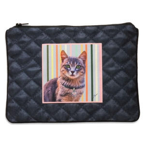 Handbags - Coco The Cat Cosmetic Pouch